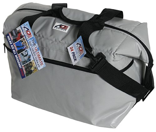 ao coolers silver 12 pack softsided fishing cooler - Soft Sided Coolers